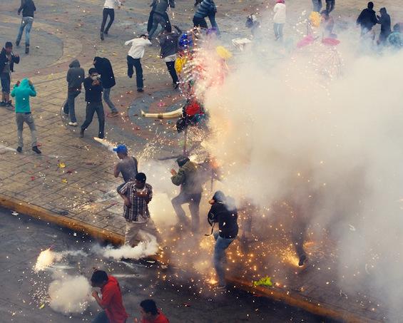 Спектакуларниот фестивал на пиротехника во Мексико