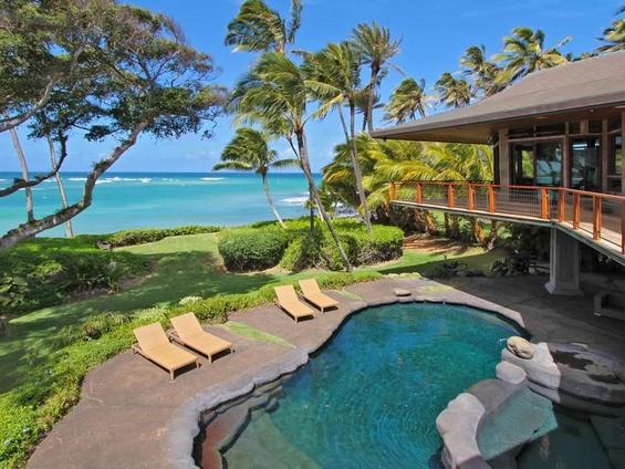 Прекрасна куќа на Хаваите