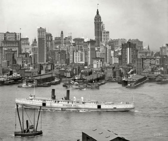 Како изгледаше САД пред еден век