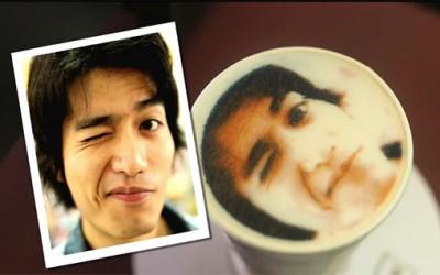 Во Тајван можете да пиете кафе со слика од вашиот лик