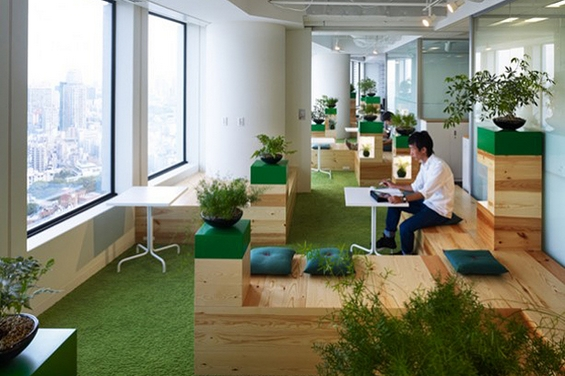 """(5) Канцелариите на """"Гугл"""" во Токио"""