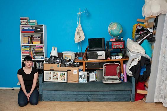 (6) Луѓе фотографирани со сè што поседуваат