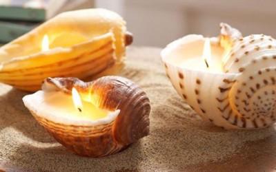 Направете сами: миризлива свеќа во школка
