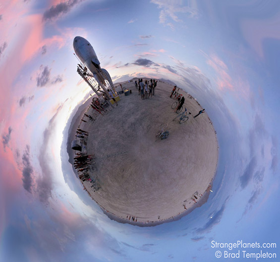 Необичните планети на фотографот Џулијан Кеш