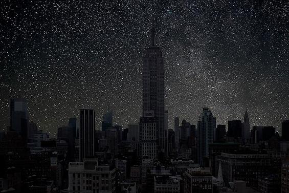 Како ќе изгледа ѕвезденото небо доколку нема  градска светлина?