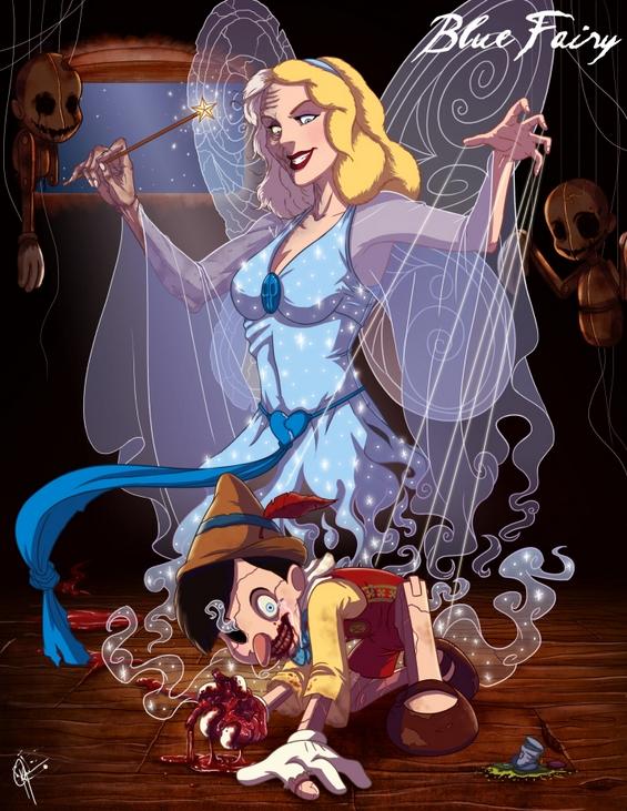 Принцезите на Дизни во злобно издание