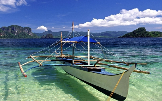 Бродови кои лебдат над водата