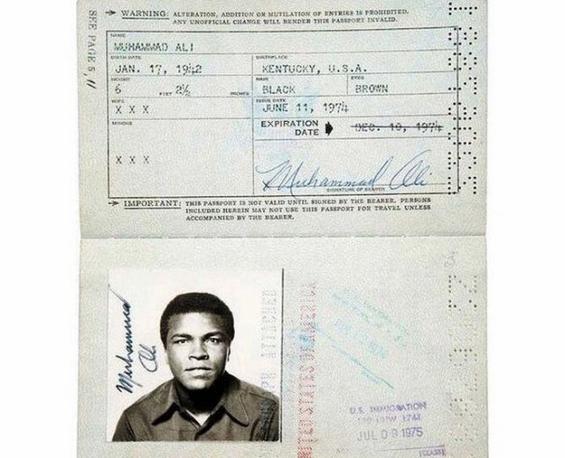 Пасоши кои им припаѓале на познатите личности од минатото