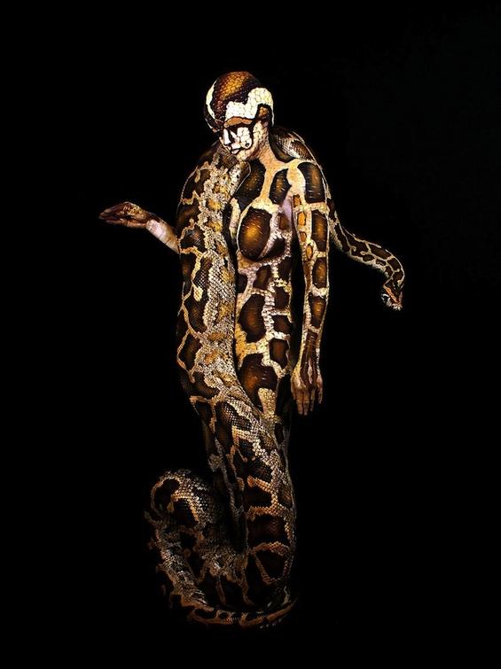 Неверојатен боди арт инспириран од природата