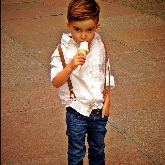 Алонсо Матео - најдобро облеченото 5-годишно дете