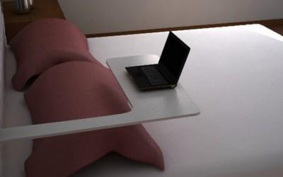 Специјална спална во која можете да си легнете со вашиот лаптоп