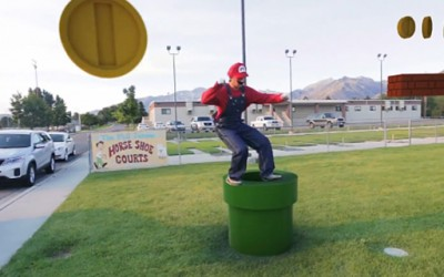 Супер Марио во вистинскиот живот
