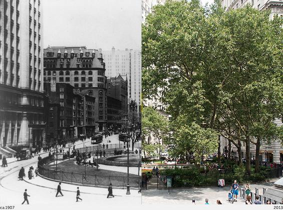 Њујорк во минатото и во сегашноста
