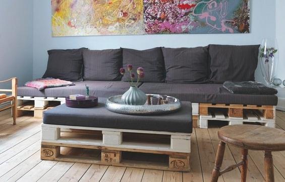 Од стари палети до нов модерен мебел