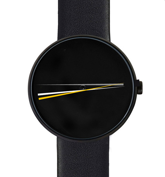 Најминималистичкиот часовник што сте го виделе