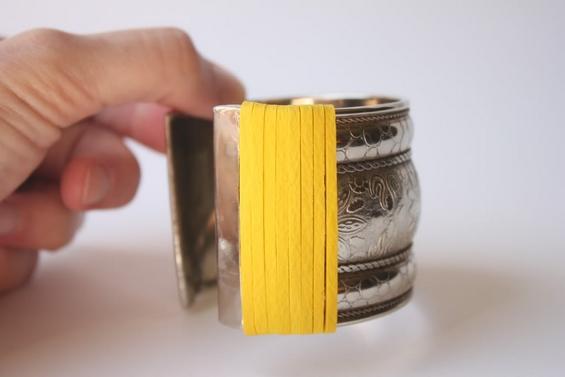 Направете сами: Од стара алка до нов колоритен аксесоар