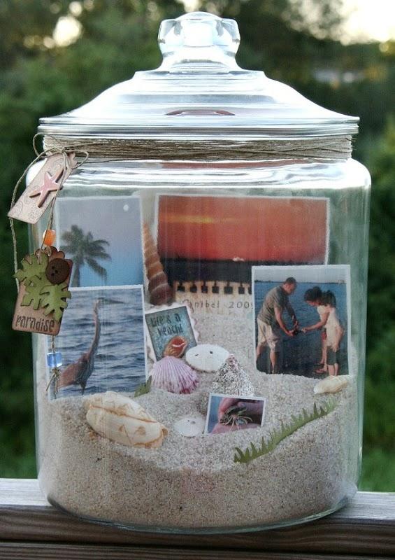 Како да ги сочувате вашите спомени во тегла?