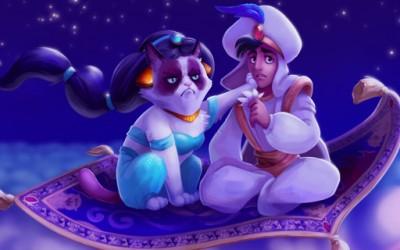 Намуртениот мачор како замена за ликовите на Дизни
