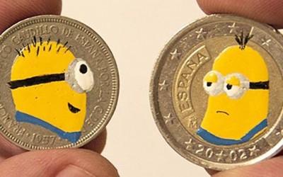 Од обична монета до интересно уметничко дело