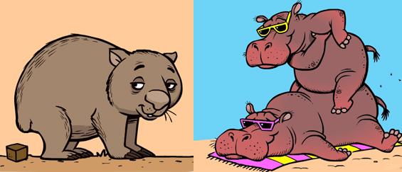 Забавни анимирани гифови со интересни факти за животните