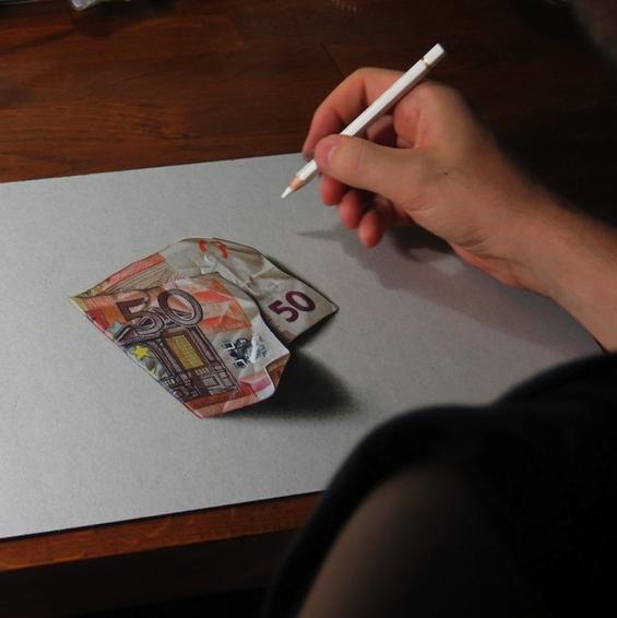Неверојатни хиперреалистични цртежи од секојдневни предмети