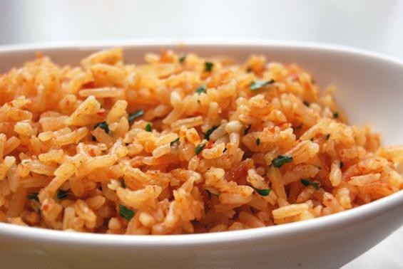 Ориз подготвен на мексикански начин
