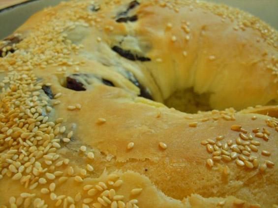 Погача-лепче со маслинки