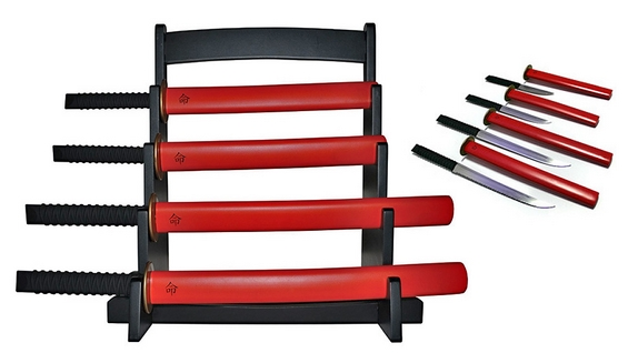 Самурајски ножеви за вашата модерна кујна