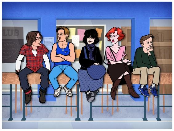 Утринскиот клуб (The Breakfast Club)