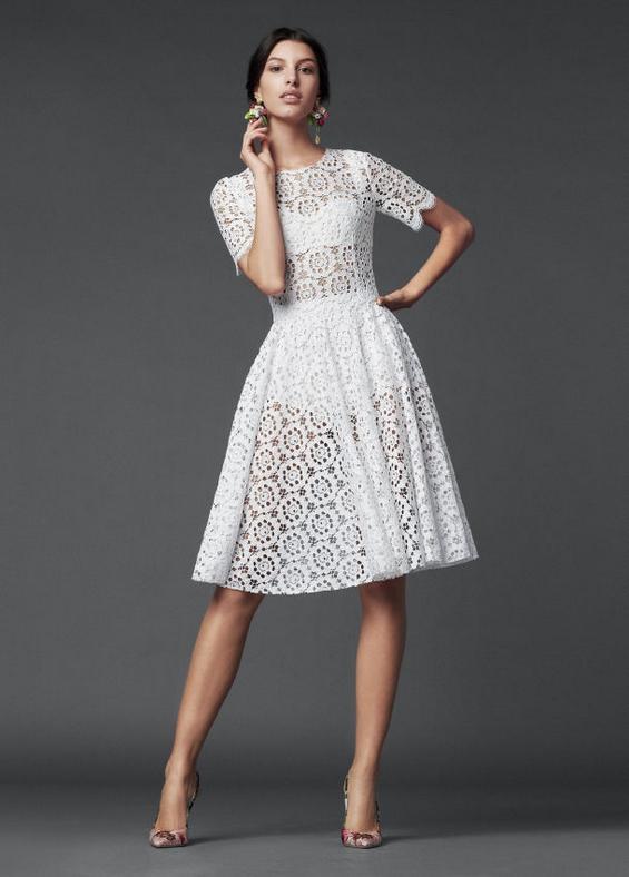 """Најубавите фустани од најновата колекција на """"Dolceamp;Gabbana"""""""