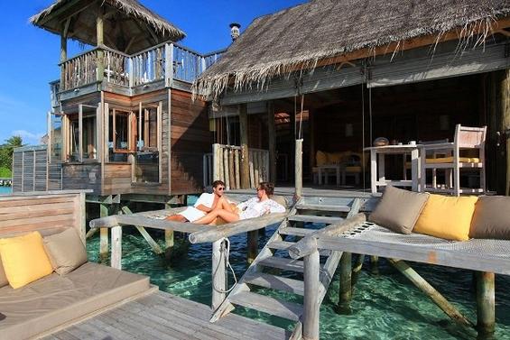 Совршено место за романтично бегство на Малдивите