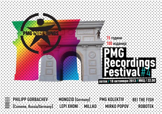 Четврто издание на ПМГ Рекордингс Фестивалот