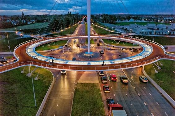 Извонреден кружен тек за велосипедисти во Холандија
