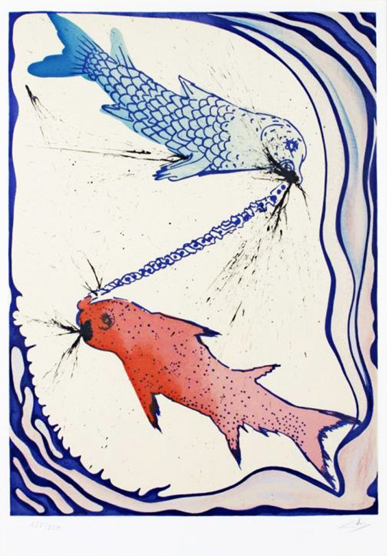 Хороскопските знаци илустрирани од Салвадор Дали