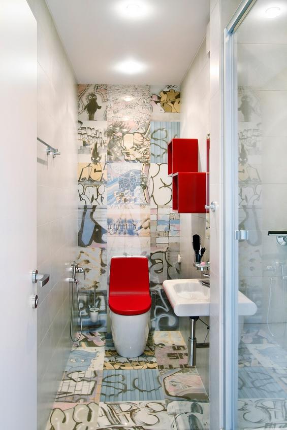 Топол минималистички стан во студената Москва