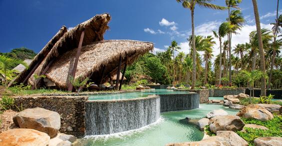 Рајски ресорт на сред Пацифик