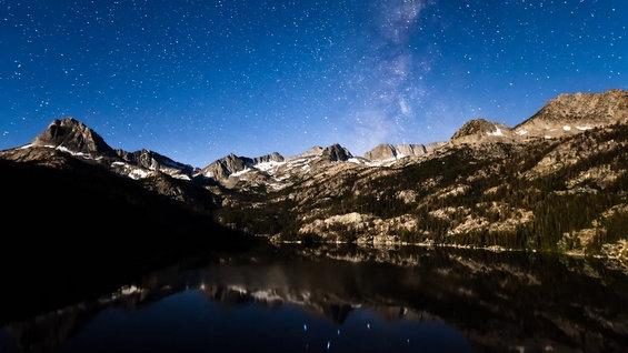 Ѕвезденото небо над Јосемити