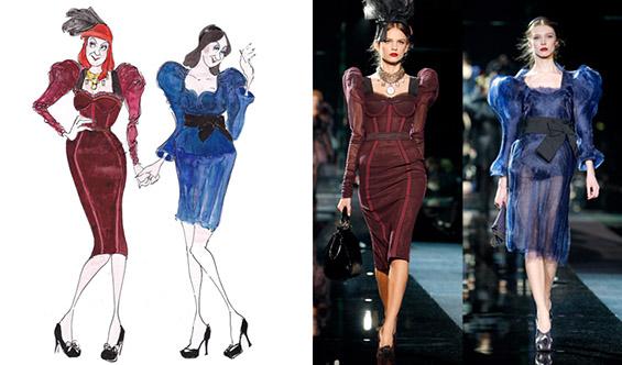 Ликовите на Дизни како модни икони