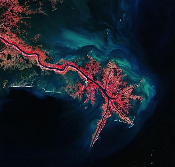 Воодушевувачки пејзажи сликани од вселената