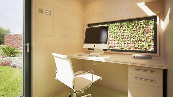 Креативни идеи за ваш личен работен простор во вашиот двор