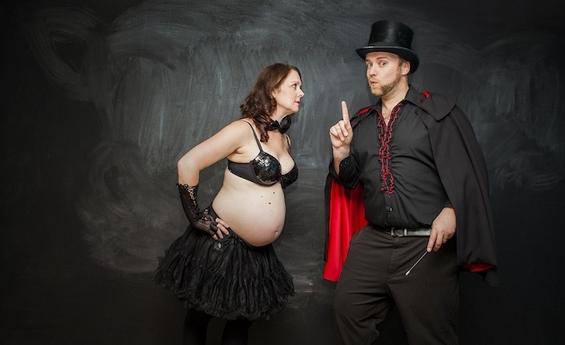 Како се раѓа бебе со помош на магија?