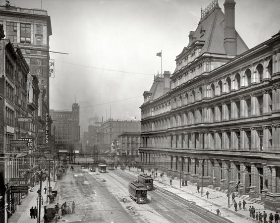 Фантастични фотографии од светските метрополи во далечното минато