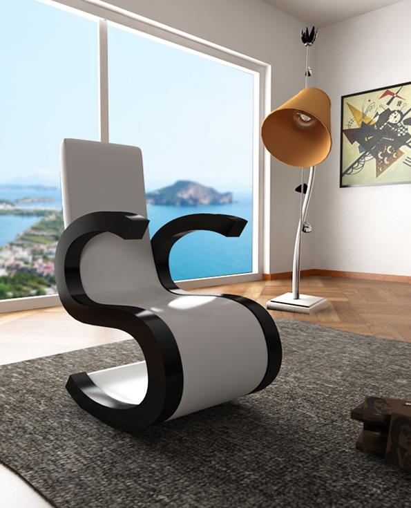 Убави букви трансформирани во уникатен и елегантен мебел за домот