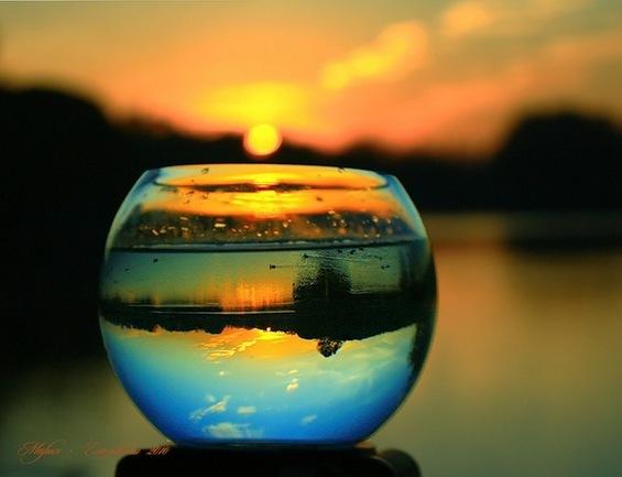 Пејзажи во магични топки