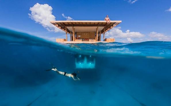 Егзотичен ресорт во Занзибар кој ви овозможува да спиете со рипките
