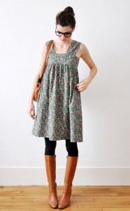 (5) Есенски комбинации со хеланки и чизмички