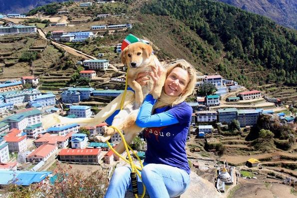 Првото куче во светот кое се искачило на Монт Еверест