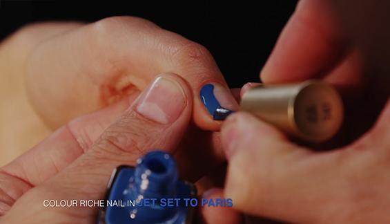 Забавна варијанта на класичниот француски маникир