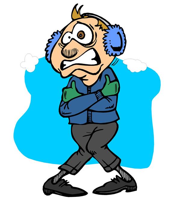 """Како да се стоплите кога надвор е """"ѕивра"""" ладно?"""