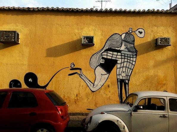(1) Феноменална љубовна улична уметност
